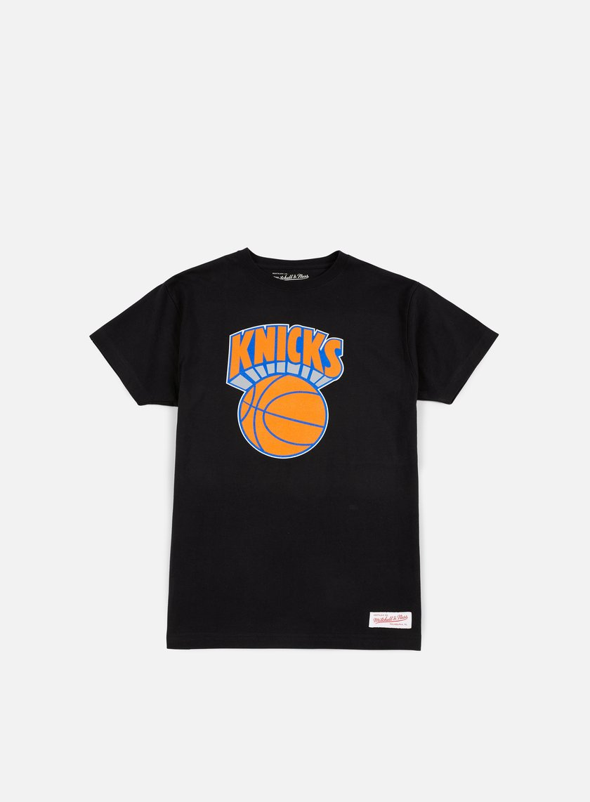 Mitchell & Ness - Team Logo Traditional T-shirt New York Knicks, Black