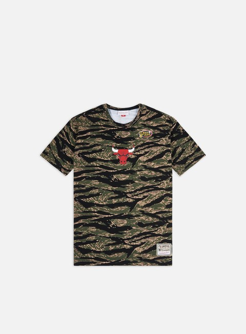 T-shirt a Manica Corta Mitchell & Ness Tiger Camo Oversized T-shirt Chicago Bulls