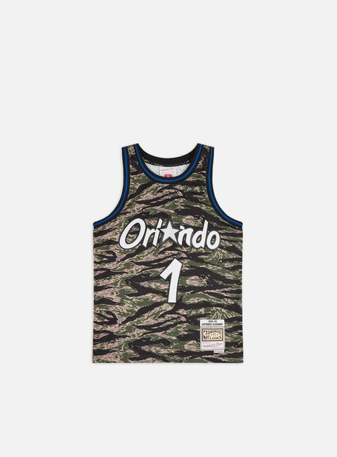 Canotte da Basket Mitchell & Ness Tiger Camo Swingman Jersey Orlando Magic