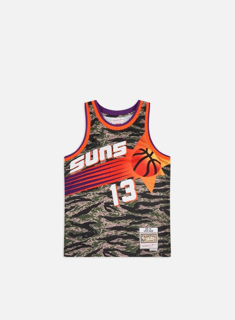 Canotte da Basket Mitchell & Ness Tiger Camo Swingman Jersey Phoenix Suns