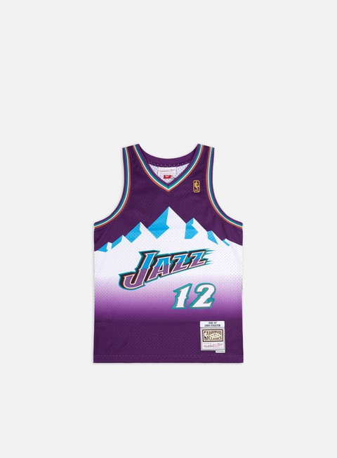 Basketball Jerseys Mitchell & Ness Utah Jazz 96-97 Swingman Jersey John Stockton