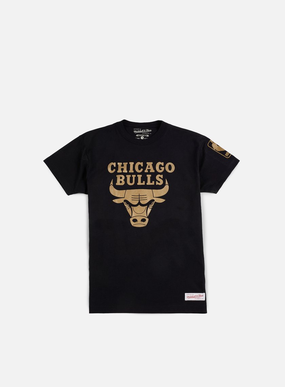 Mitchell & Ness - Winning Percentage Traditional T-shirt Chicago Bulls, Black