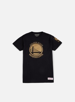 Mitchell & Ness - Winning Percentage Traditional T-shirt Golden State Warriors, Black 1