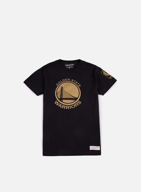 T-shirt a Manica Corta Mitchell & Ness Winning Percentage Traditional T-shirt Golden State Warriors