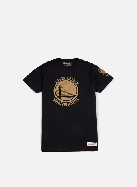 Outlet e Saldi T-shirt a Manica Corta Mitchell & Ness Winning Percentage Traditional T-shirt Golden State Warriors
