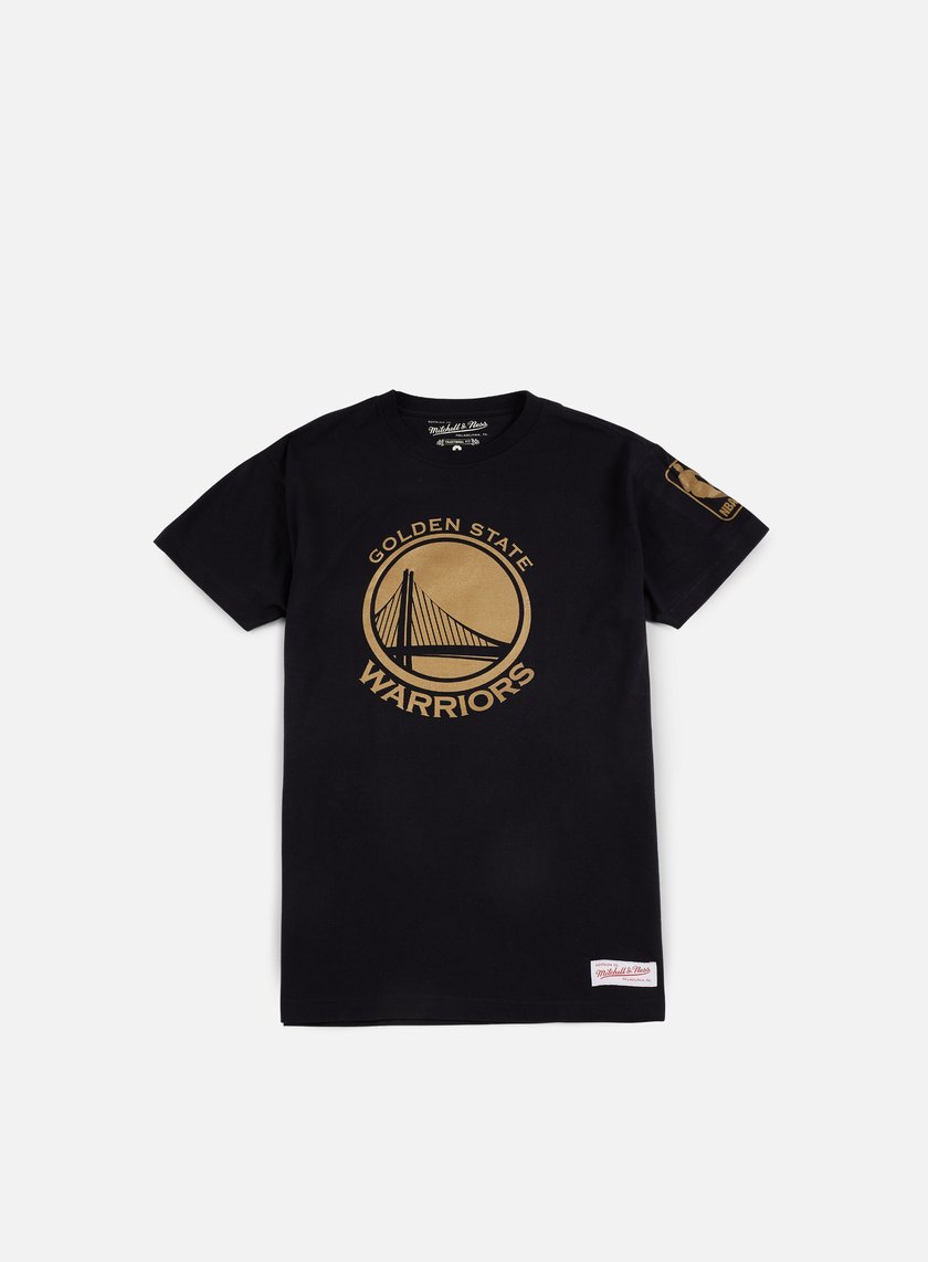 Mitchell & Ness - Winning Percentage Traditional T-shirt Golden State Warriors, Black