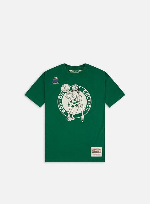 Short sleeve T-shirts Mitchell & Ness Worn Logo T-shirt Boston Celtics