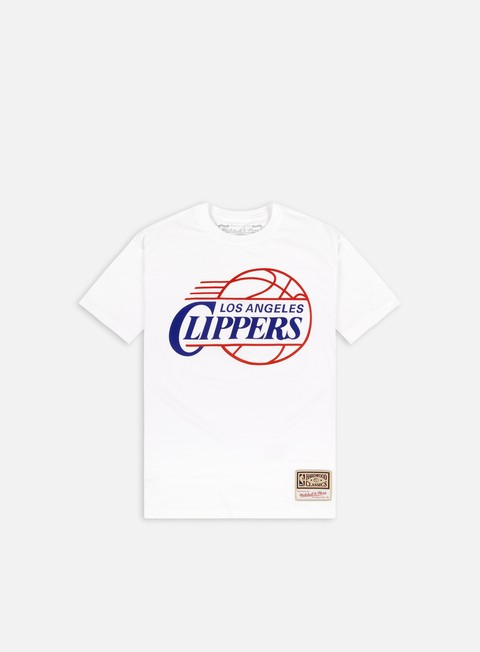 Short sleeve T-shirts Mitchell & Ness Worn Logo T-shirt Los Angeles Clippers