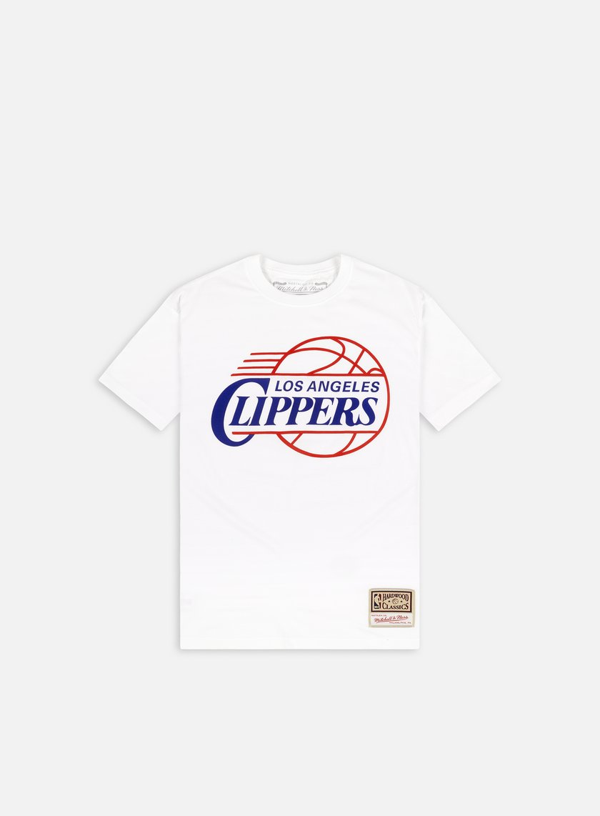 Mitchell & Ness Worn Logo T-shirt Los Angeles Clippers
