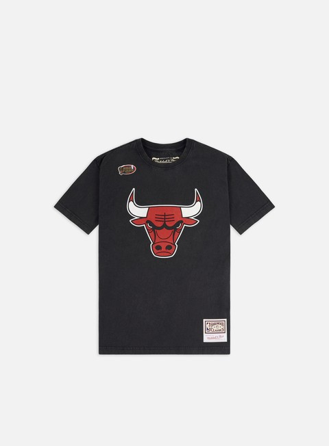 T-shirt a Manica Corta Mitchell & Ness Worn Logo/Wordmark T-shirt Chicago Bulls