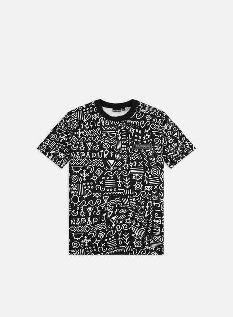 Outlet e Saldi T-shirt a Manica Corta Napapijri S-Noaide T-shirt