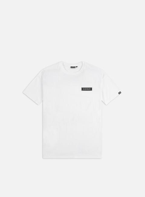 Outlet e Saldi T-shirt a Manica Corta Napapijri S-Patch T-shirt