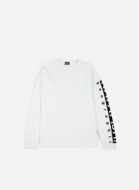 t shirt napapijri sabah ls t shirt bright white