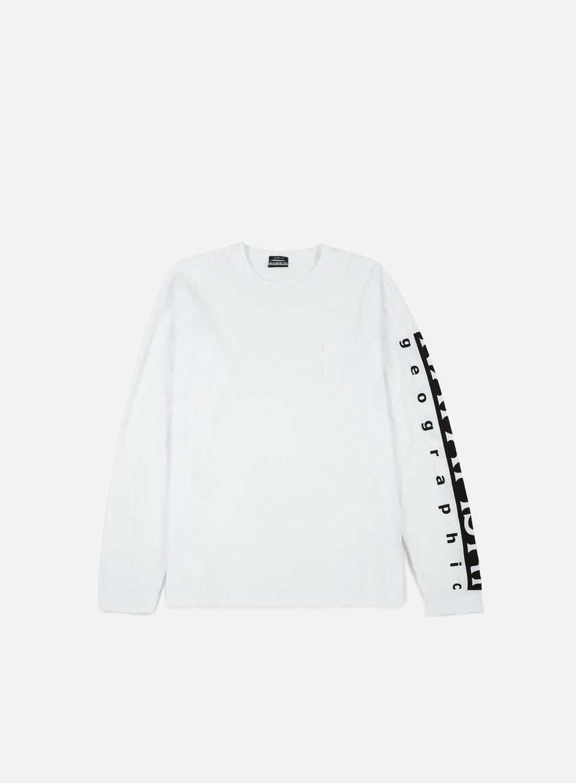 Napapijri - Sabah LS T-shirt, Bright White