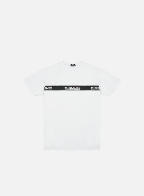t shirt napapijri sagar t shirt bright white