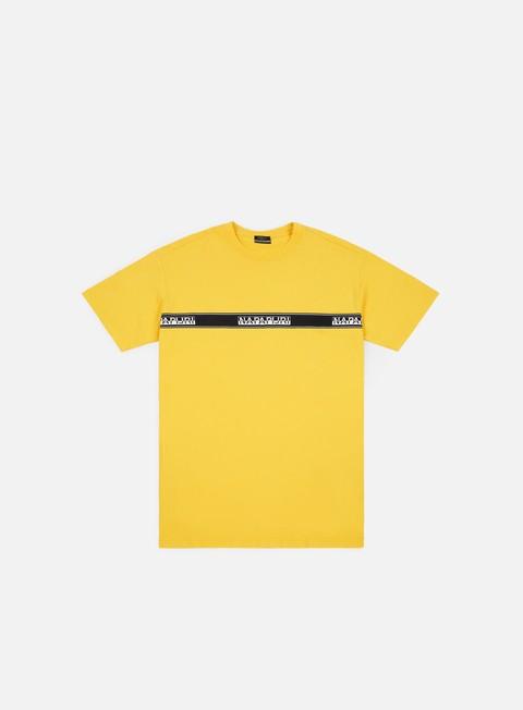 t shirt napapijri sagar t shirt spark yellow