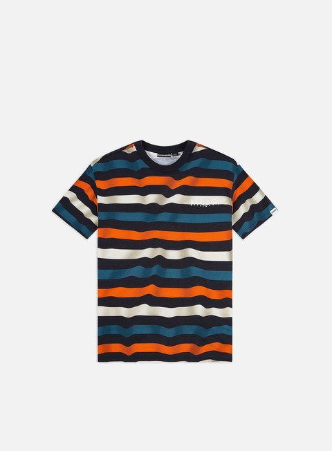Short Sleeve T-shirts Napapijri Saty Stripe T-shirt