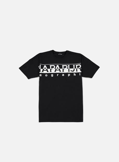 t shirt napapijri saumur t shirt black