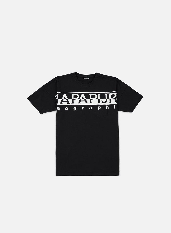 napapijri saumur t shirt black 19 50 n0ygrr041 t shirts short sleeve graffitishop. Black Bedroom Furniture Sets. Home Design Ideas