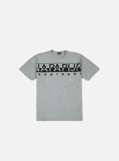 Napapijri - Saumur T-shirt, Medium Grey Melange 1