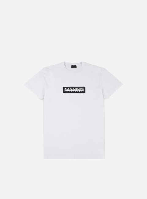 t shirt napapijri simbai t shirt bright white