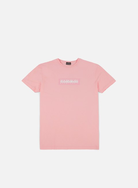 t shirt napapijri simbai t shirt light pink