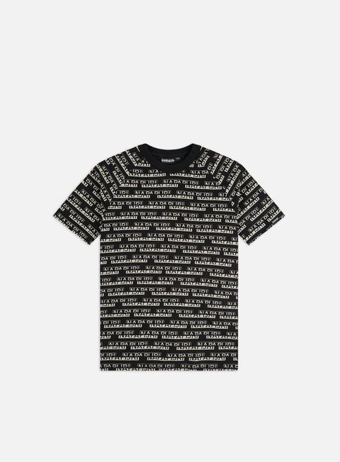 Outlet e Saldi T-shirt a Manica Corta Napapijri Sire Aop T-shirt