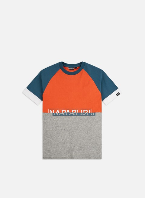 Outlet e Saldi T-shirt a Manica Corta Napapijri Sire CB T-shirt
