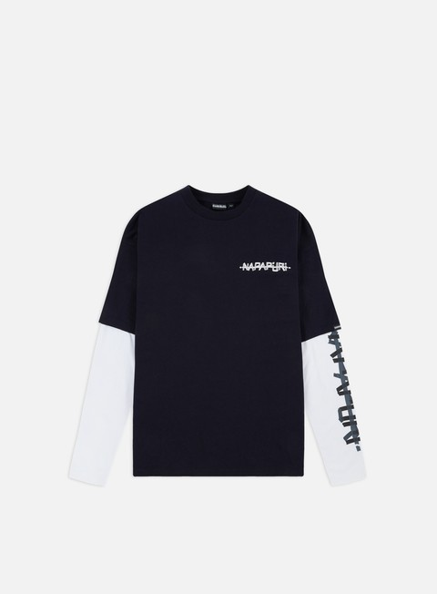 Long Sleeve T-shirts Napapijri Solt 2 Sleeves T-shirt