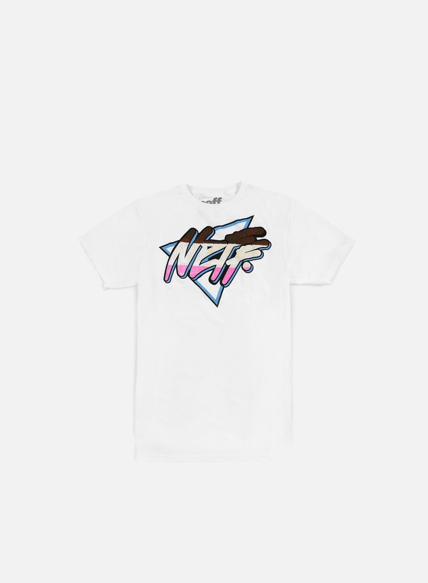Neff - Daily Triangle Filled T-shirt, White
