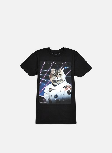 Outlet e Saldi T-shirt a Manica Corta Neff Mind Control T-shirt
