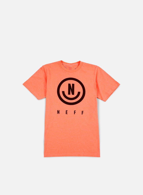 Neff - Neu T-shirt, Neon Peach