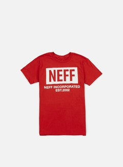 Neff - New World T-shirt, Red 1
