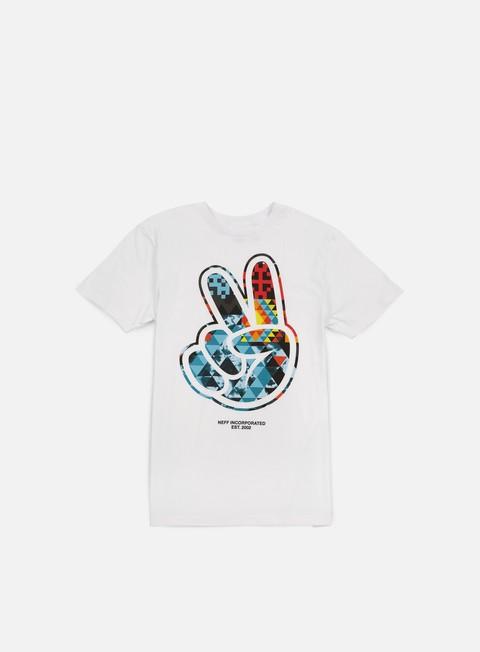 Outlet e Saldi T-shirt a Manica Corta Neff Paz Digi Tribe T-shirt