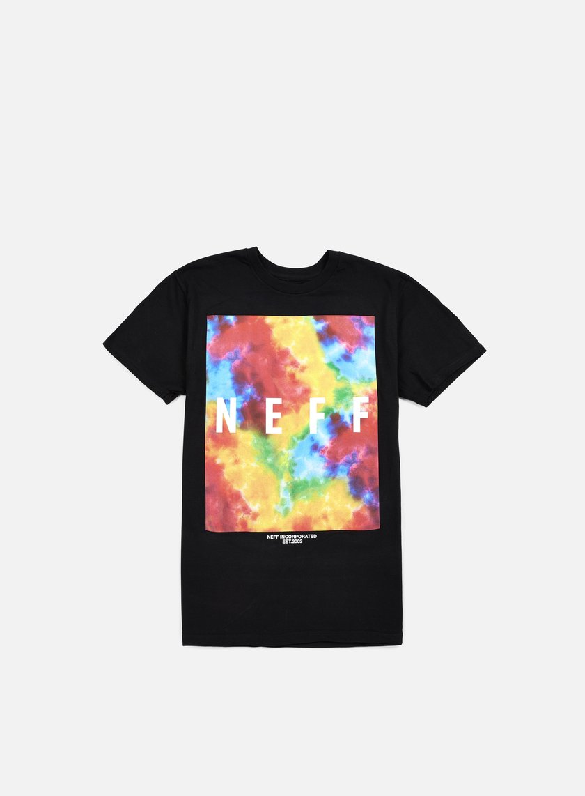 Neff - Quad Dye T-shirt, Black