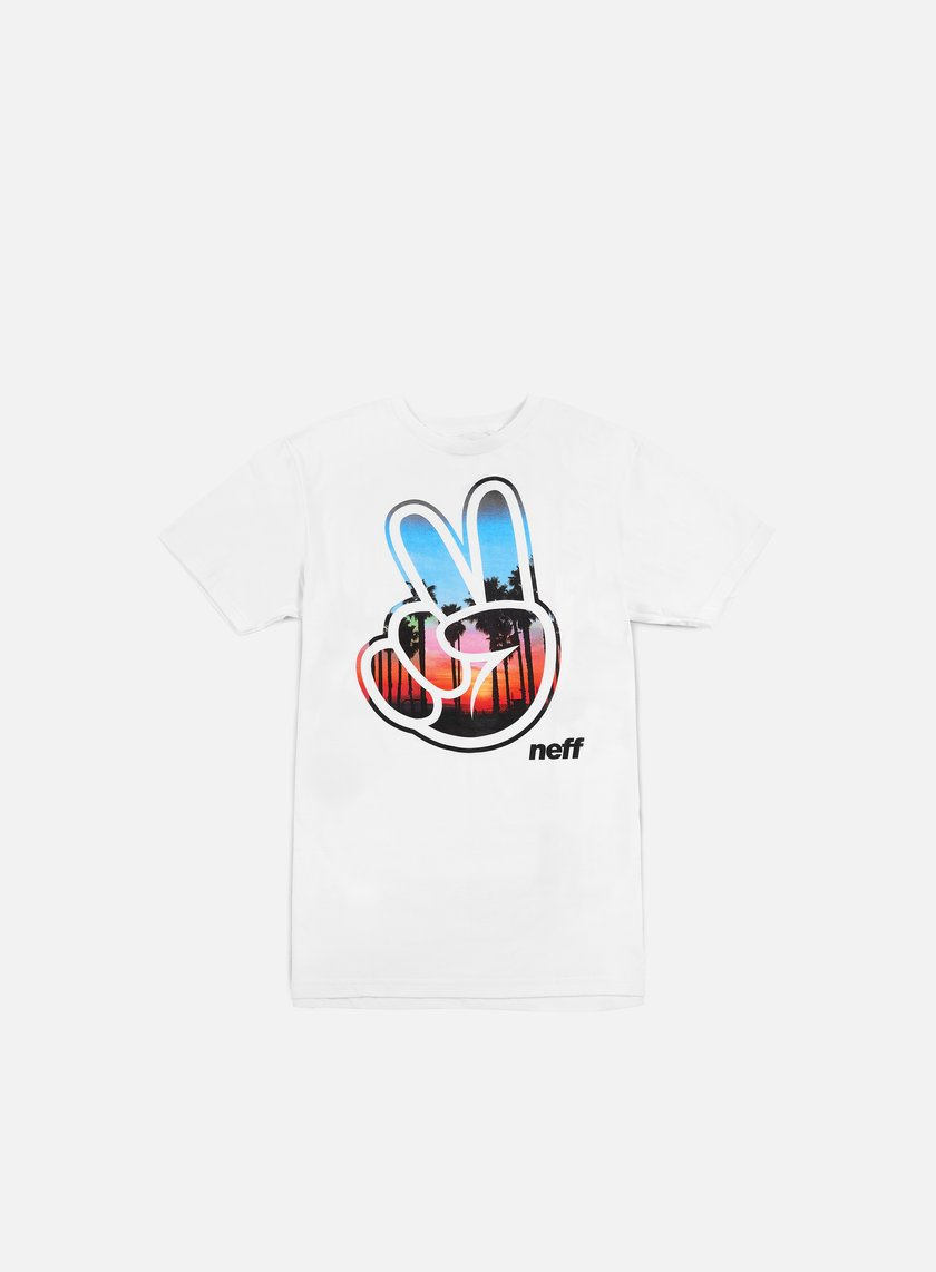 Neff - Sunset Concord T-shirt, White