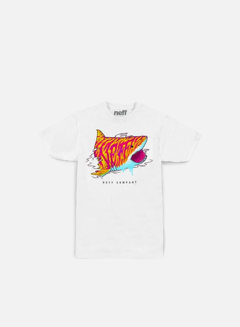 Outlet e Saldi T-shirt a Manica Corta Neff Tiger Shark T-shirt