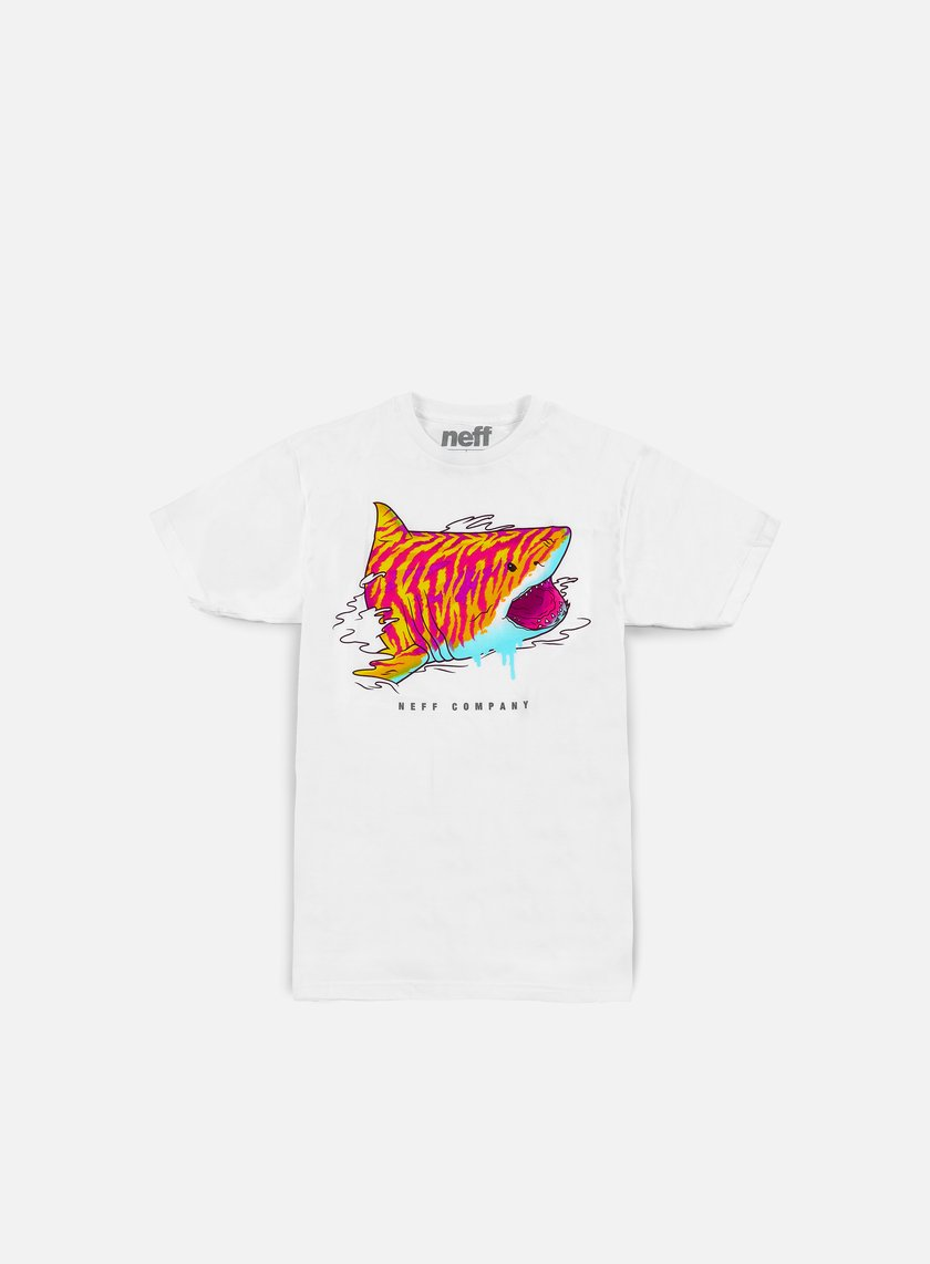 Neff - Tiger Shark T-shirt, White