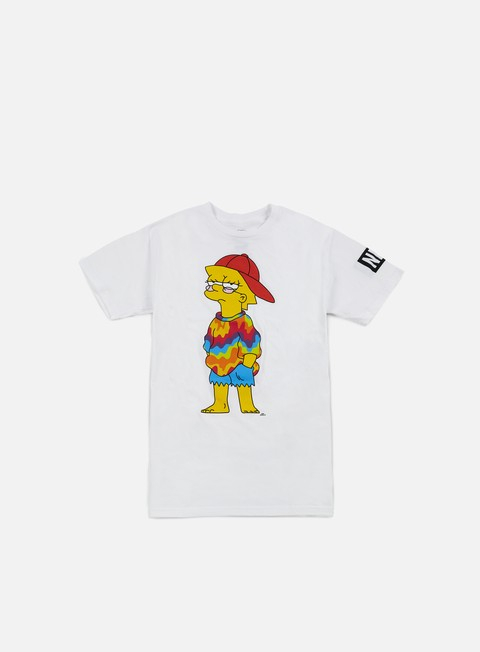 Outlet e Saldi T-shirt a Manica Corta Neff Yung Lisa T-shirt