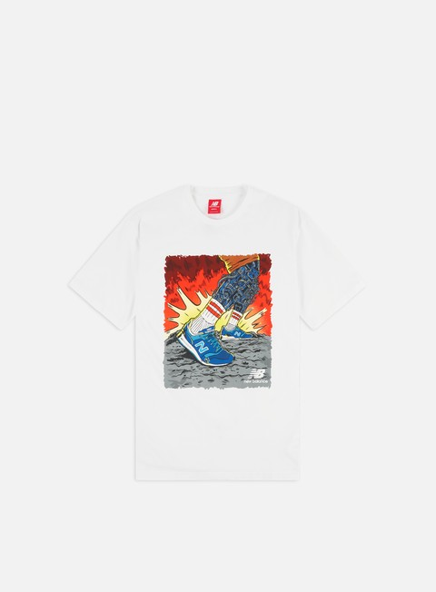Sale Outlet Short Sleeve T-shirts New Balance Artist Pack Stride T-shirt