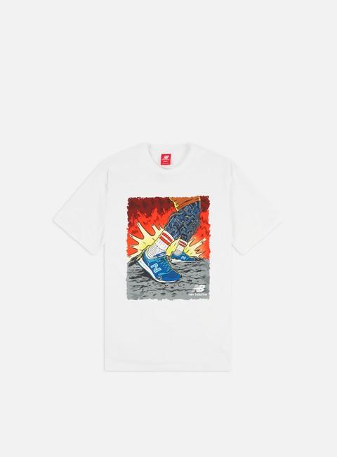 Outlet e Saldi T-shirt a Manica Corta New Balance Artist Pack Stride T-shirt