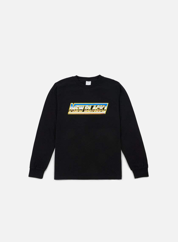 New Black Chrome LS T-shirt