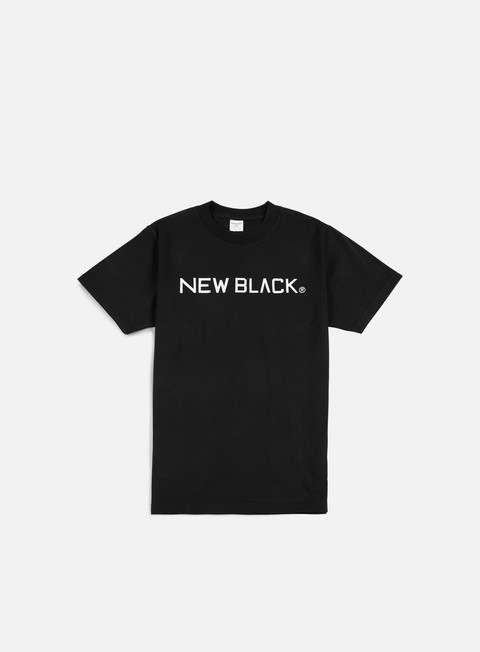 Sale Outlet Short Sleeve T-shirts New Black Logo T-shirt