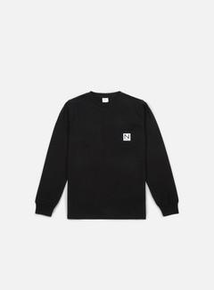 New Black Pocket LS T-shirt