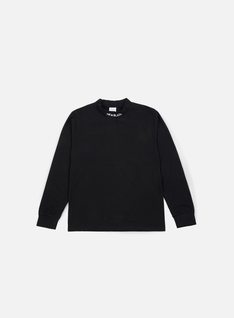 New Black T-Neck LS T-shirt