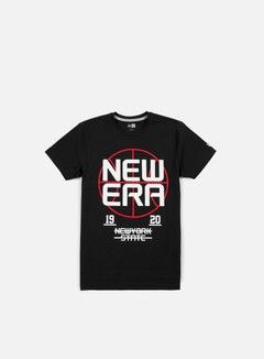 New Era - Basket Stack T-shirt, Black 1