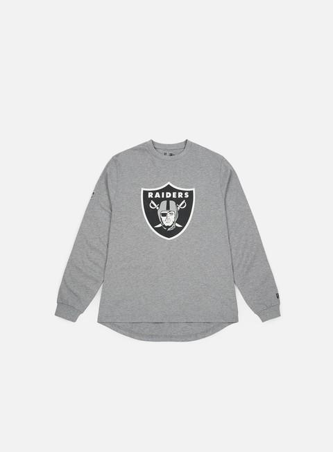 Outlet e Saldi T-shirt a Manica Lunga New Era Big Logo LS T-shirt Oakland Raiders