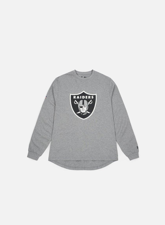 New Era Big Logo LS T-shirt Oakland Raiders