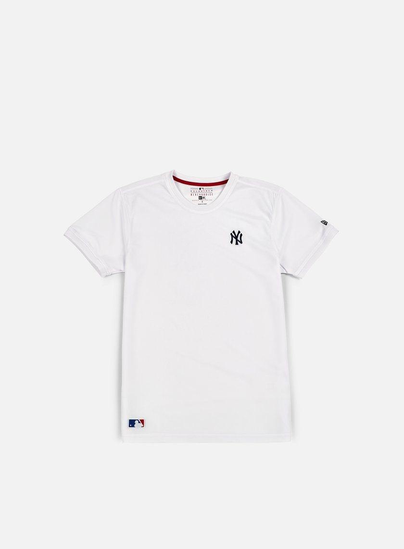 New Era - Border Edge Badge T-shirt NY Yankees, White