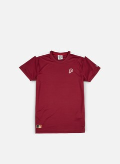 New Era - Border Edge Badge T-shirt  Philadelphia Phillies, Claret 1